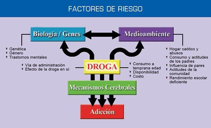 Factores de riesgo adicción