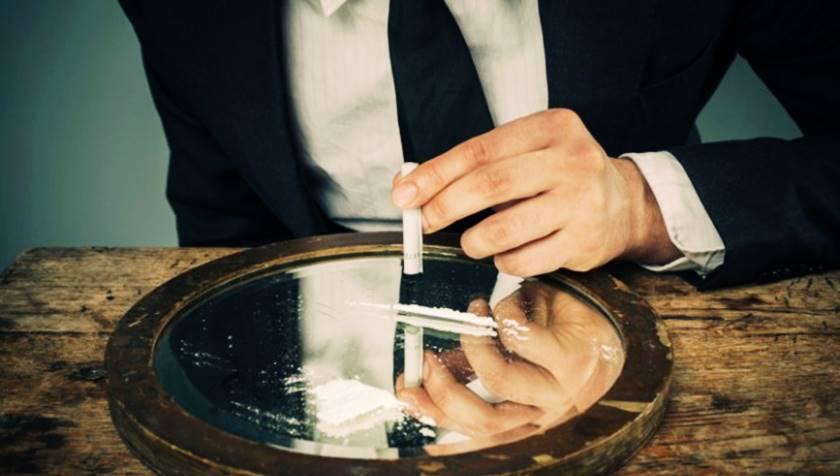 Consumo de cocaína entre altos ejecutivos