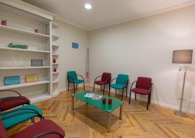 Sala terapia familias